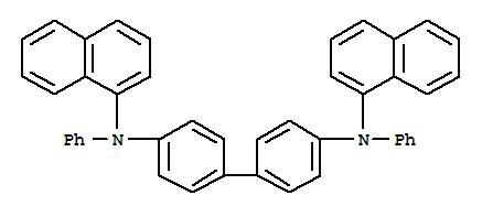 Molecular Structure of 123847-85-8 ([1,1'-Biphenyl]-4,4'-diamine,N4,N4'-di-1-naphthalenyl-N4,N4'-diphenyl-)