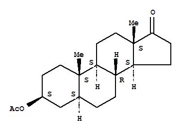 Molecular Structure of 1239-31-2 (Epiandrosterone acetate)