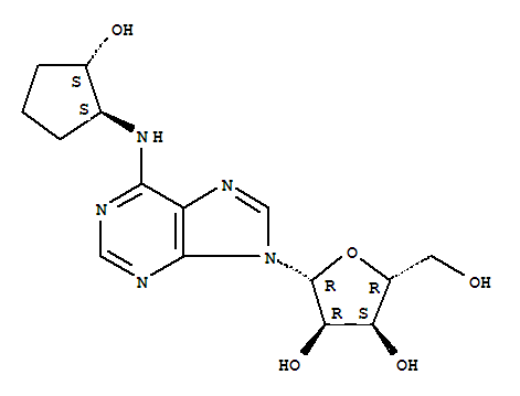 (2r,3r,4s,5r)-2-[6-[[(1s,2s)-2-hydroxycyclopentyl]amino]purin-9-yl]-5-(hydroxymethyl)oxolane-3,4-diol
