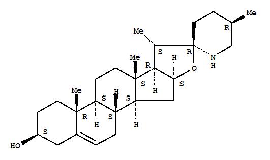 Molecular Structure of 126-17-0 (Solasodine)