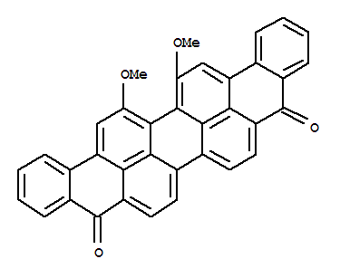 Molecular Structure of 128-58-5 (Vat Green 1)