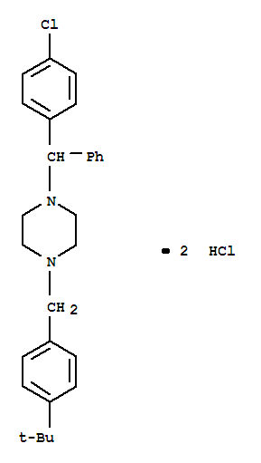 Buclizine dihydrochloride(129-74-8)