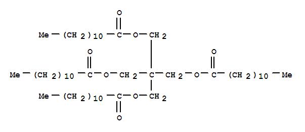 Molecular Structure of 13057-50-6 (Dodecanoic acid,1,1'-[2,2-bis[[(1-oxododecyl)oxy]methyl]-1,3-propanediyl] ester)