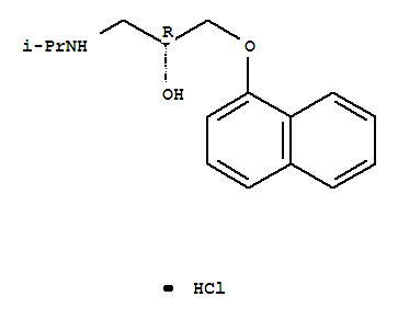(R)-[2-Hydroxy-3-(naphthyloxy)-propyl]-isopropylammonium chloride