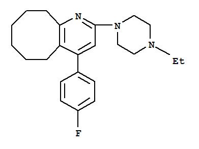 CAS NO:132810-10-7 Blonanserin Molecular Structure