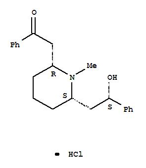 Molecular Structure of 134-63-4 (alpha-Lobeline hydrochloride)