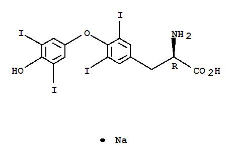 Sodium D Thyroxine Supplier Casno 137 53 1