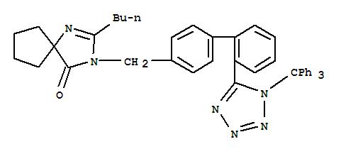 Molecular Structure of 138402-10-5 (Trityl Irbesartan)