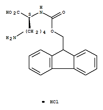 L-Lysine,N<sup>2</sup>-[(9H-fluoren-9-ylmethoxy)carbonyl]-, hydrochloride (1:1) product picture