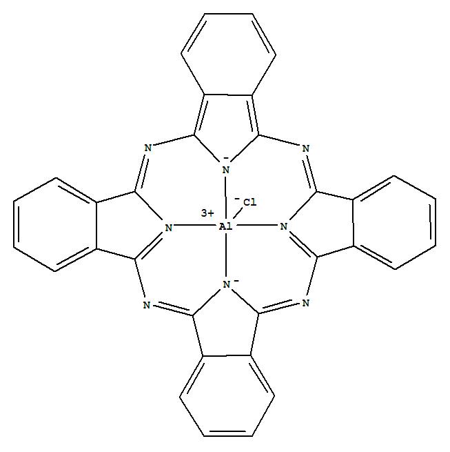 Molecular Structure of 14154-42-8 (Aluminum,chloro[29H,31H-phthalocyaninato(2-)-kN29,kN30,kN31,kN32]-, (SP-5-12)-)