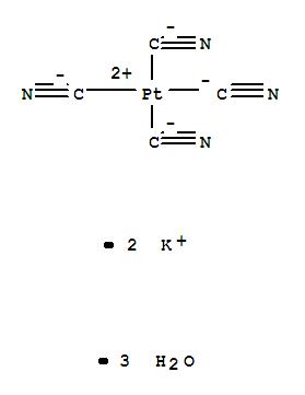 Potassium tetracyanoplatinate(II) trihydrate