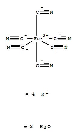 Potassium ferrocyanide trihyrate