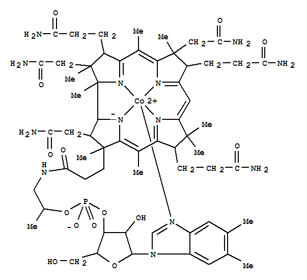 Molecular Structure of 14463-33-3 (Vitamin B12-Co(II))