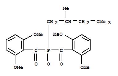 Molecular Structure of 145052-34-2 (Methanone,1,1'-[(2,4,4-trimethylpentyl)phosphinylidene]bis[1-(2,6-dimethoxyphenyl)-)