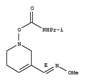 145071-58-5,3-Pyridinecarboxaldehyde,1,2,5,6-tetrahydro-1-[[[(1-methylethyl)amino]carbonyl]oxy]-, 3-(O-methyloxime),(E)- (9CI),