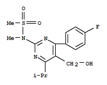 Z-7:4-(4-Fluorophenyl)-6-isopropyl-2-[(N-methyl-n-methylsulfony)amino]pyrimidine-5-yl-methanol(Hydroxy methyl)(147118-36-3)