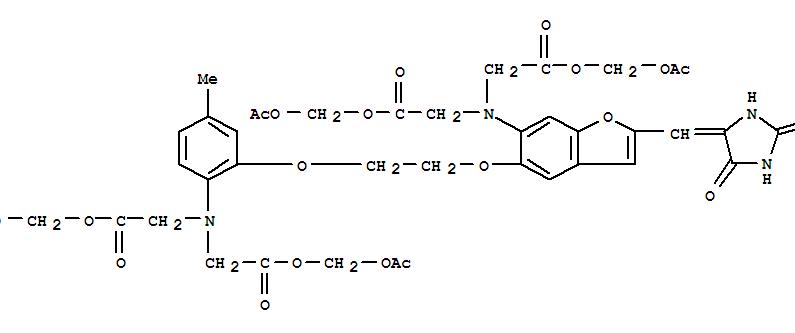 Synonyms:Fura Red; Molecular Formula:C41H44 N4 O20 S; Molecular Weight:0