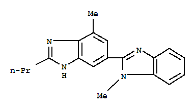 High quality 2-n-Propyl-4-methyl-6-(1-methylbenzimidazole-2-yl)benzimidazole supplier in China