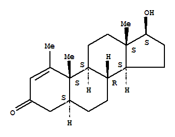 Molecular Structure of 153-00-4 (Metenolone)