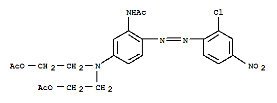 Molecular Structure of 1533-78-4 (Disperse Red 167:1)
