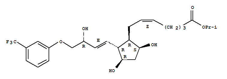 Molecular Structure of 157283-68-6 (Travoprost)