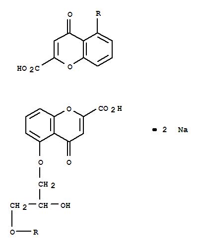 Sodium cromoglycate DSCG DISODIUM CROMOGLYCATE 15826-37-6 99% min