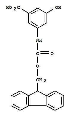 3-Amino-5-hydroxybenzoic acid, N-FMOC protected 97%