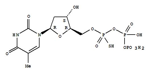 THYMIDINE 5'-O-(1-THIOTRIPHOSPHATE)