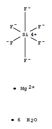 Molecular Structure of 18972-56-0 (Silicate(2-),hexafluoro-, magnesium (1:1), hexahydrate (9CI))