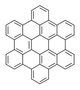 Molecular Structure of 190-24-9 (Hexabenzo[bc,ef,hi,kl,no,qr]coronene)