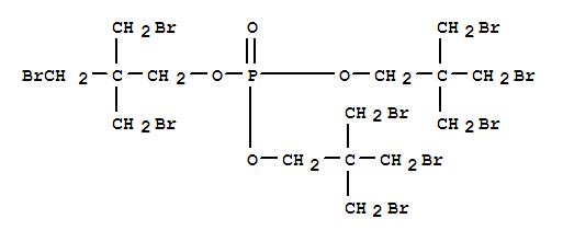 Molecular Structure of 19186-97-1 (1-Propanol,3-bromo-2,2-bis(bromomethyl)-, 1,1',1''-phosphate)