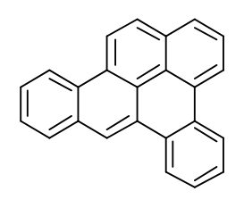 Molecular Structure of 192-65-4 (Naphtho[1,2,3,4-def]chrysene)