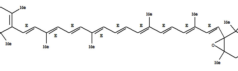 Molecular Structure of 1923-89-3 (b,b-Carotene, 5,6-epoxy-5,6-dihydro-)