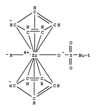 BIS-(CYCLOPENTADIENYL)-ZIRCONIUM(IV)-(TERT-BUTYLSULFONATE)-(HYDRIDE)(192882-21-6)