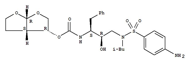 Molecular Structure of 206361-99-1 (Darunavir)