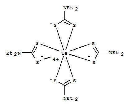 Tellurium,tetrakis(N,N-diethylcarbamodithioato-kS,kS')-, (DD-8-111''1''1'1'1'''1''')- product picture