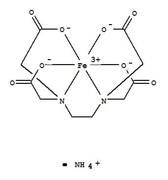 CAS NO:21265-50-9 Ferric ammonium EDTA Molecular Structure