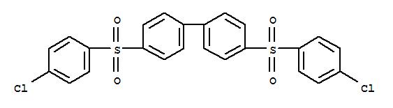 4,4'-Bis(4-chlorophenyl)sulfonyl-1,1'-biphenyl(22287-56-5)