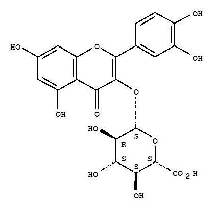 22688-79-5,b-D-Glucopyranosiduronic acid,2-(3,4-dihydroxyphenyl)-5,7-dihydroxy-4-oxo-4H-1-benzopyran-3-yl,Glucopyranosiduronicacid, 2-(3,4-dihydroxyphenyl)-5,7-dihydroxy-4-oxo-4H-1-benzopyran-3-yl, b-D- (8CI); Miquelianin (7CI);Mikwelianin; Quercetin 3-O-b-D-glucuronide; Quercetin 3-O-b-D-glucuronopyranoside; Quercetin 3-glucuronide; Quercetin 3-b-glucuronide; Quercetinglucuronide; Quercetin-3-b-D-glucuronide; Quercituron; Querciturone