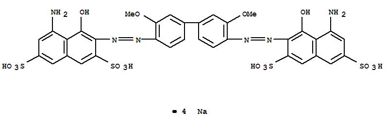DIRECT BLUE 15 2,7-naphthalenedisulfonicacid,3,3'-[(3,3'-dimethoxy[1,1'-biphenyl]-4,4'-diyl) 2429-74-5 98% min
