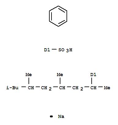 25321-28-2,Benzenesulfonic acid,(1,3,5,7-tetramethyloctyl)-, sodium salt (8CI,9CI),Sodiumtetramethyloctanebenzenesulfonate