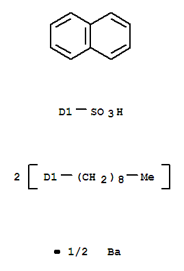 Naphthalenesulfonicacid, dinonyl-, barium salt (2:1) product picture