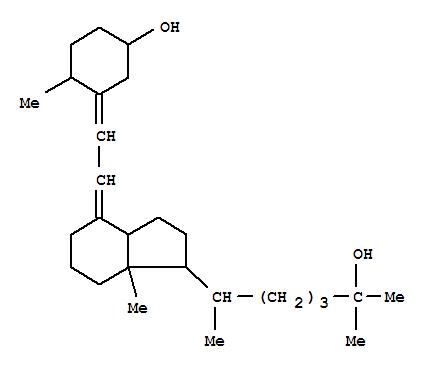 25631-39-4,9,10-Secocholesta-5,7-diene-3,25-diol,(3b,5E,7E,10a)- (9CI),Tachysterol3,dihydro-25-hydroxy- (8CI); 25-Hydroxydihydrotachysterol3