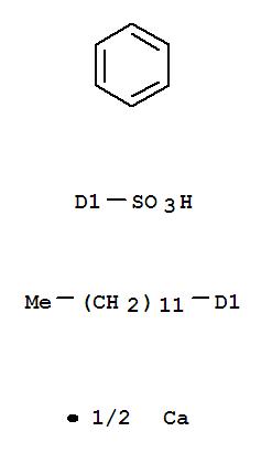 Molecular Structure of 26264-06-2 (Benzenesulfonicacid, dodecyl-, calcium salt (7CI,8CI,9CI))
