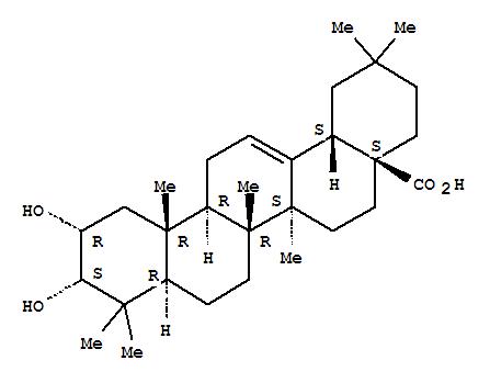 2,3-Dihydroxy-12-oleanen-28-oic acid