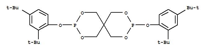 26741-53-7,Antioxidant 24,Phosphorousacid, cyclic neopentanetetrayl bis(2,4-di-tert-butylphenyl) ester (8CI);2,4,8,10-Tetraoxa-3,9-diphosphaspiro[5.5]undecane,3,9-bis(2,4-di-tert-butylphenoxy)- (8CI);Phenol, 2,4-di-tert-butyl-,dihydrogen phosphite cyclic neopentanetetrayl ester (8CI);ADK Stab PEP 24;ADKStab PEP 24G;2,4,8,10-Tetraoxa-3,9-diphosphaspiro[5.5]undecane,3,9-bis[2,4-bis(1,1-dimethylethyl)phenoxy]-;Antioxidant 626;Cyclicneopentanetetrayl bis(2,4-di-tert-butylphenyl phosphite);Di(2,4-di-tert-butylphenyl)pentaerythritol diphosphite;Doverphos S 9432;Irgafos 126;Irgafos 126FF;Mark PEP 24;Mark PEP 24G;Phos 5;Songnox6260;Ultranox 2879A;Ultranox 624;Ultranox 626;Weston 626;Weston MDW 626;