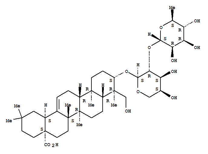 Molecular Structure of 27013-91-8 (alpha-Hederin)