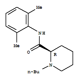 Molecular Structure of 27262-45-9 (2-Piperidinecarboxamide,1-butyl-N-(2,6-dimethylphenyl)-, (2R)-)