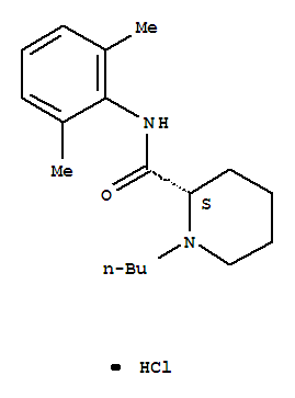 Molecular Structure of 27262-48-2 (Levobupivacaine hydrochloride)