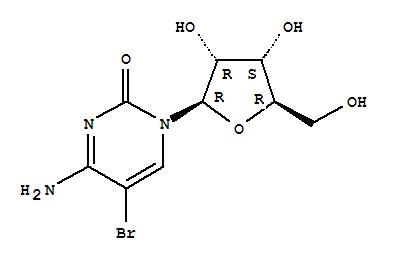 Molecular Structure of 3066-86-2 (Cytidine, 5-bromo-(7CI,8CI,9CI))